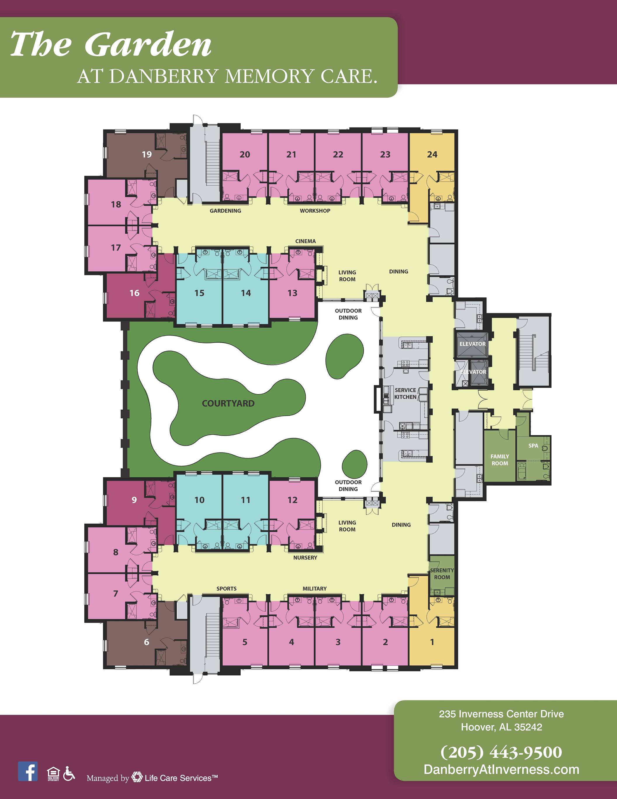 Danberry Floor Layout